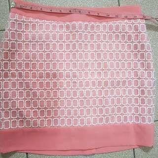 Peach Pink Skirt