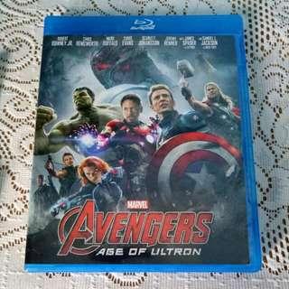 Avengers Age Of Ultron Blu Ray