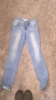 Just jeans light wash