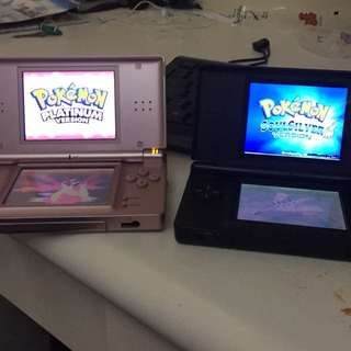 Nintendo Ds amnd Dsi with pokemon soul silver and platinum