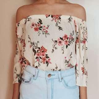 Floral Off Shoulder (From TrippySwag)