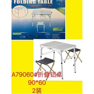 Folding table convenient to take