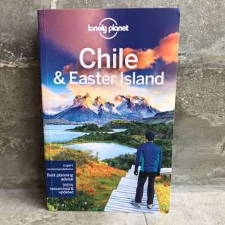 Chile & Easter Island 10th Edition Lonely Planet Guide Book