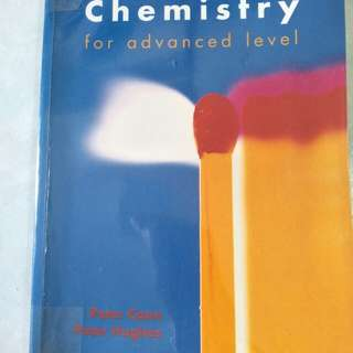 Chemistry for advanced level