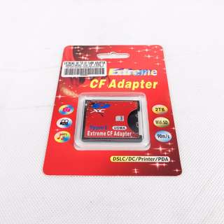 Extreme SD to CF Card Adapter