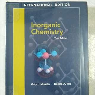 Inorganic Chemistry, third edition