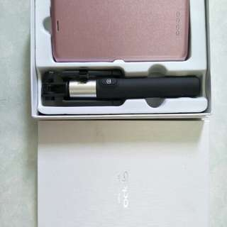 OPPO selfie stick and phone cover for Rs9