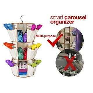 🚩BEST BUY! Carousel Shoe Organizer
