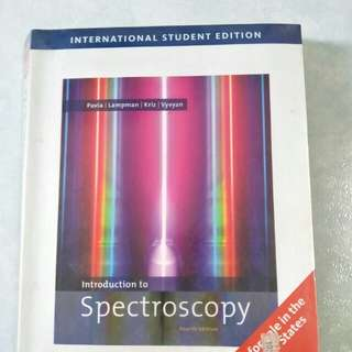 Introduction to Spectroscopy, fourth edition