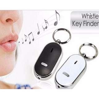 Gantungan Kunci Whistle And Light - Black