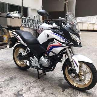 Honda CB190X full accessories