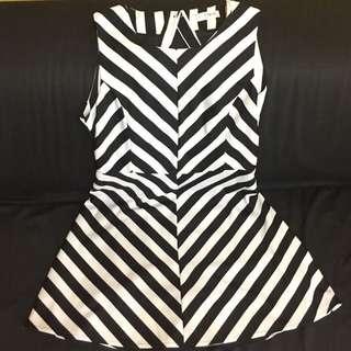 F Block mini dress (sexy back)