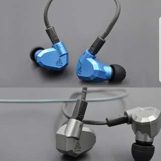 [INSTOCK] KZ ZS5 Detachable HIFI Double Dynamic Bass Headset WITH MIC 《EXCLUSIVE PREMIUM PACKAGING》
