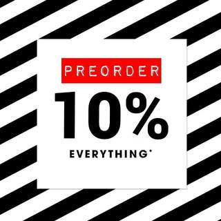PREORDER anything from Sephora Malaysia