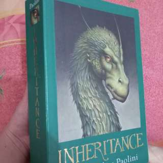 INHERITANCE (Eragon Series) by Christopher Paolini