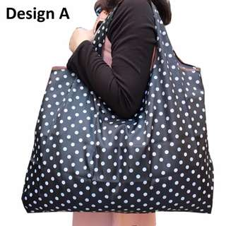 Eco-Friendly Large Size Designer Fold-able Marketing Grocery Bags
