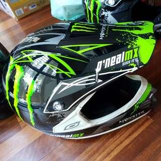 O'Neal Monster Energy MX helmet M size