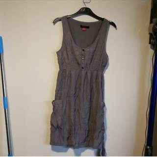 Grey singlet dress