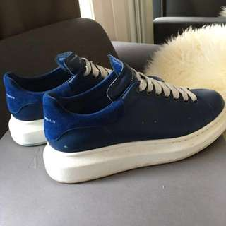 Authentic Alexander Mcqueen Platform Sneakers Eu39