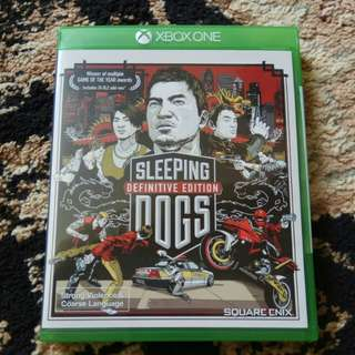 XB1 - Sleeping Dogs Definitive Edition