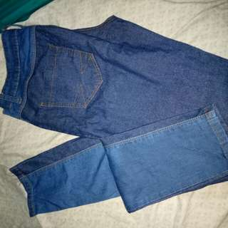 Two tone Skinny Jeans size 30 Boardwalk