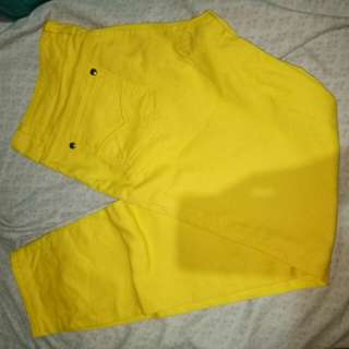Yellow Skinny Jeans size 27-28