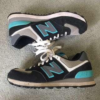 New Balance - Style 574 (navy blue/grey)