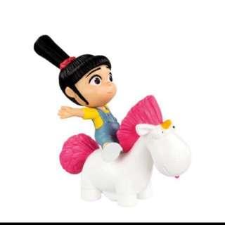 McDonald Agnes' Rocking Unicorn
