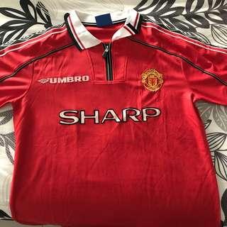 Manchester United 1999 Treble Jersey