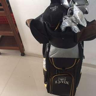 lynx golf set