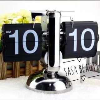 【現貨】⏰ 復古揭頁鐘 Flip Clock