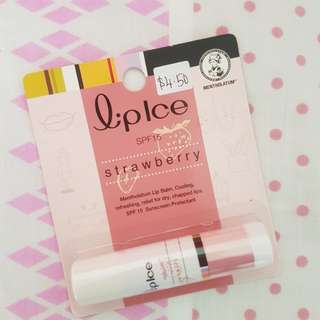 Mentholatum Liplce Lip Balm SPF 15 Sunscreen Protection