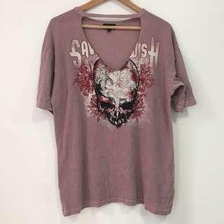 TopShop Cutout T Shirt
