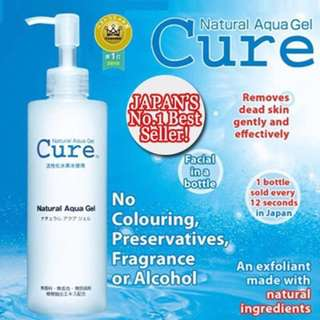 [Brand New] Cure natural Aqua gel (2 bottles available)