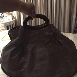 MARNI bag with sling in grey color..very big space