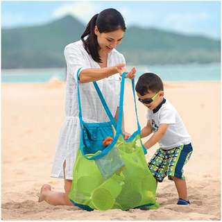 Large Sand Away Beach Mesh Bag for Outdoor