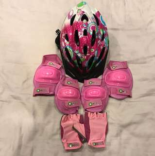 X-Cool Girl Safety Combo Set - size M