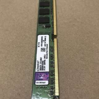 DDR3 Ram ( PC -1333 ) 2gb x 2 pcs ( desktop )