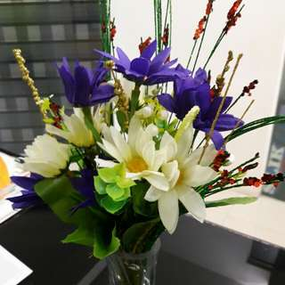 Artificial Flower Arrangement Decor