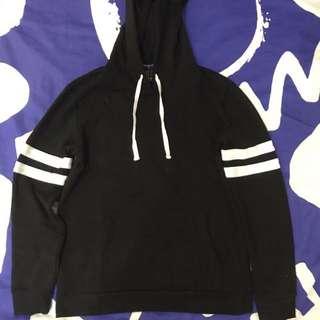 Hoodie Forever21 Black