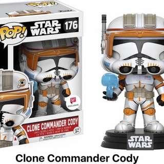 Funko Pop Star Wars Clone Commander Cody #176