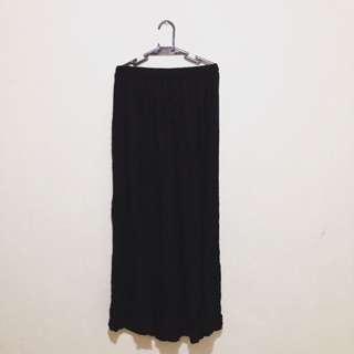 ATMOSPHERE High Waisted Maxi Skirt (gartered)
