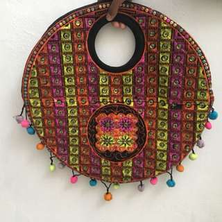 Handmade bag from Pakistan . (Clearing stocks)