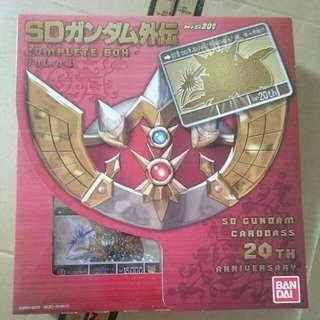 SD Gundam Gaiden 20th Anniversary Complete Box Vol.4 by Bandai Carddass