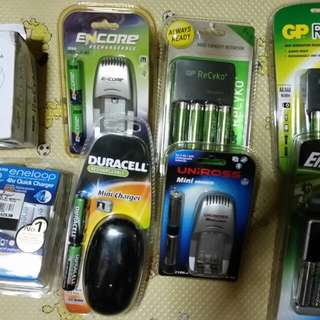 Brand New Rechargeable Battery Charger