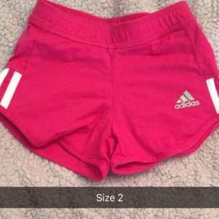 Adidas size 2-3 shorts