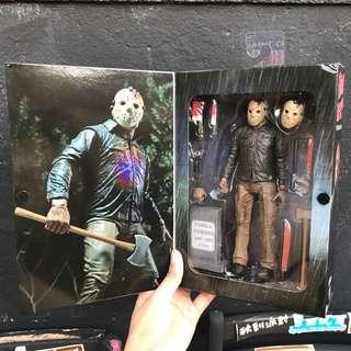 NECA 十三號星期五 殺人狂 傑森 Friday The 13th 黑色星期五 電影 正版盒裝 公仔 模型 全新 擺設 美式玩具