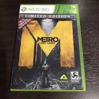 Xbox 360 Metro Last Light Limited Edition