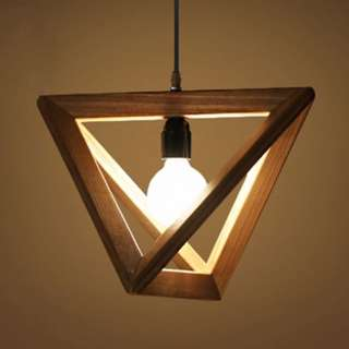 Triangle Shaped Pendant Light ( Big )