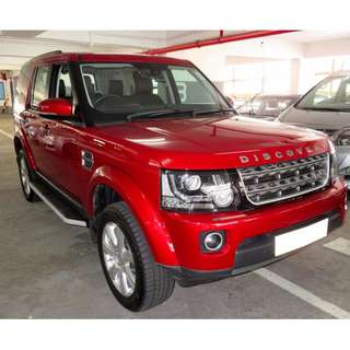 2014 / 2015 LAND ROVER DISCOVERY 4 3.0 DIESEL